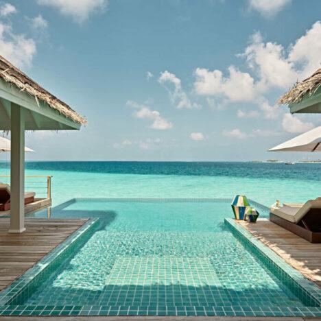 Two bedroom Water Villa Pool